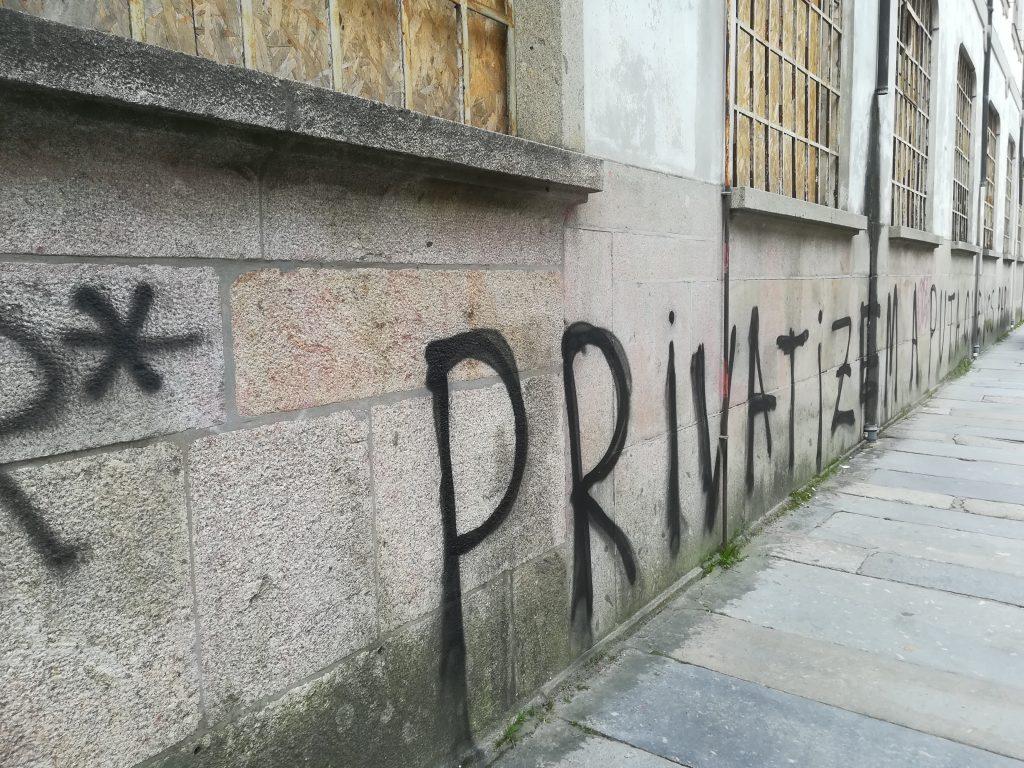 Fabrica de Confiança_vandalismo