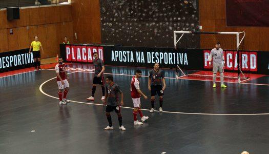 SC Braga/AAUM abre ano com o pé esquerdo