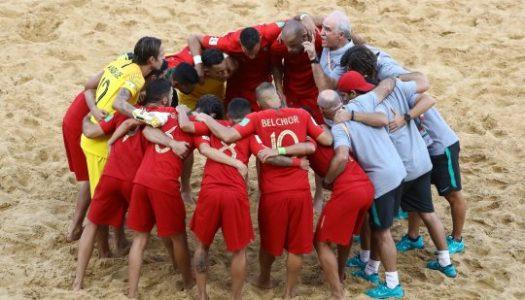 SC Braga domina lista de convocados para a Seleção Nacional de Futebol de Praia