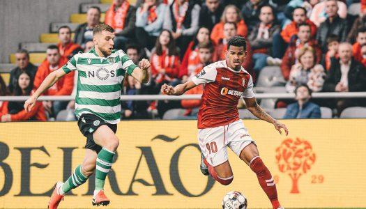 SC Braga vence Sporting CP e sobe ao terceiro lugar