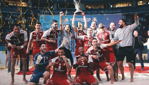 Futebol de Praia. SC Braga é bicampeão do mundo