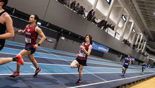 AAUM conquista ouro e prata no CNU de Atletismo de Pista Coberta