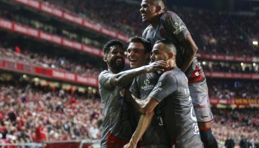 Liga NOS: SC Braga vence pela margem mínima na Luz