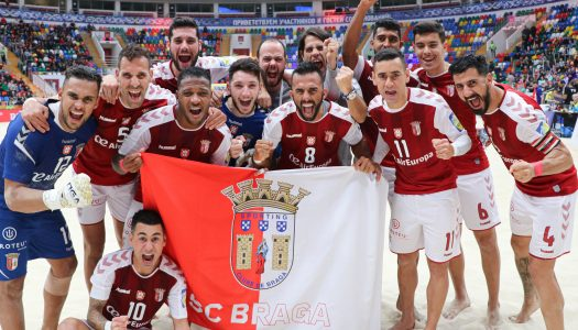 SC Braga apura-se para a final do Mundialito de Clubes