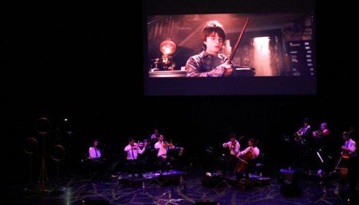 A magia de Hogwarts refletida em concerto