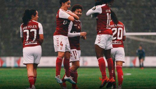 SC Braga goleia CF Benfica