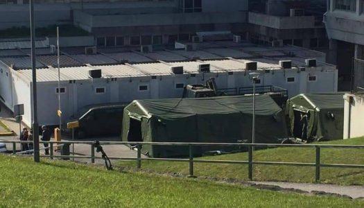 Coronavírus. Viana do Castelo monta Hospital de campanha do Exército