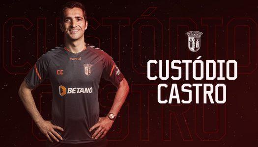 SC Braga confirma Custódio como substituto de Rúben Amorim