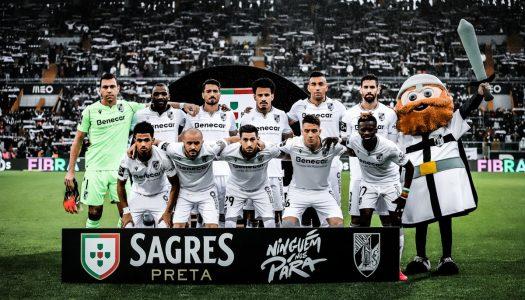 Liga NOS. Vitória SC supera CD Tondela