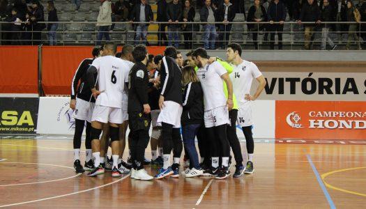 Voleibol. Vitória SC luta e vence Castêlo da Maia