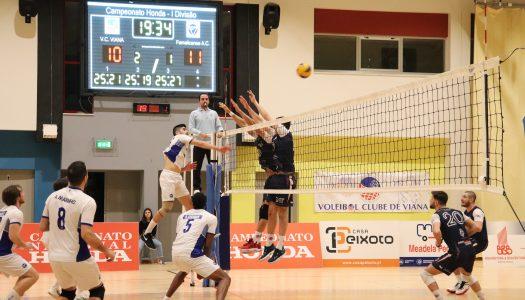 VC Viana continua na senda de vitórias