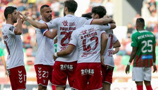 SC Braga sua para triunfar nos Barreiros