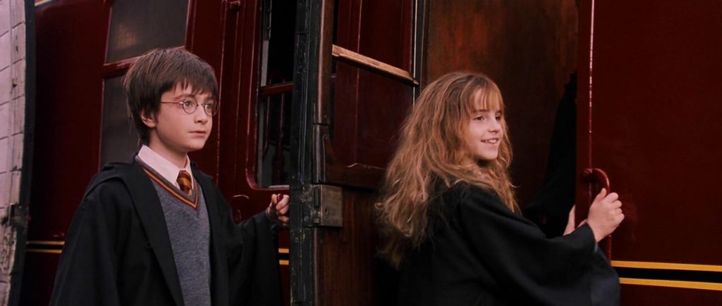 Emma Watson in Harry Potter and the Philosopher's Stone.
