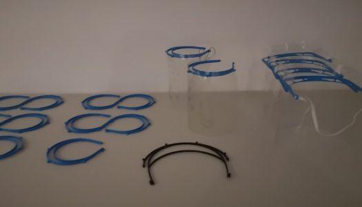 Estudantes e docentes do Politécnico de Viana do Castelo produzem viseiras
