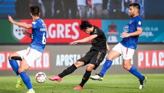 Vitória SC divide pontos na visita ao Belenenses SAD