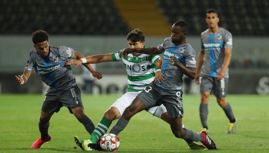 Vitória SC regressa ao campeonato com um empate