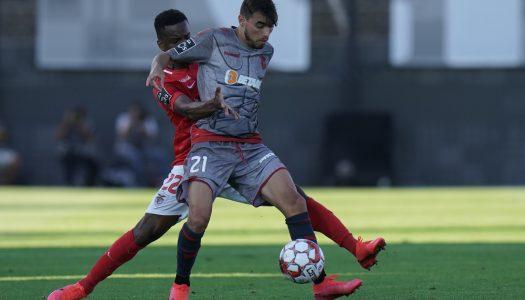 SC Braga cai no regresso ao campeonato