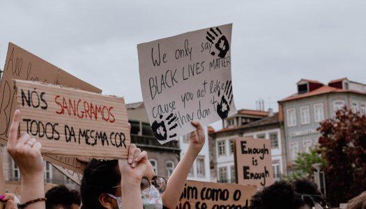 """Braga juntou-se numa só voz: """"Vidas negras importam"""""""
