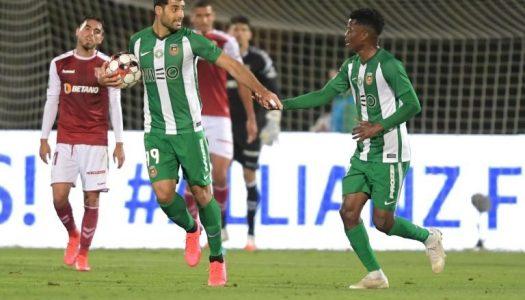 SC Braga derrotado em chuva de golos na visita a Vila do Conde