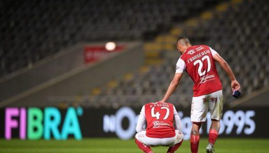SC Braga soma segundo desaire consecutivo na Liga NOS