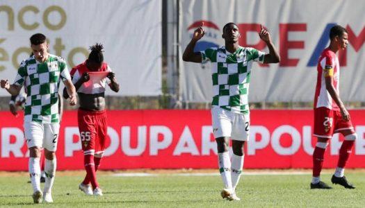 Moreirense vence na deslocação ao CD Aves