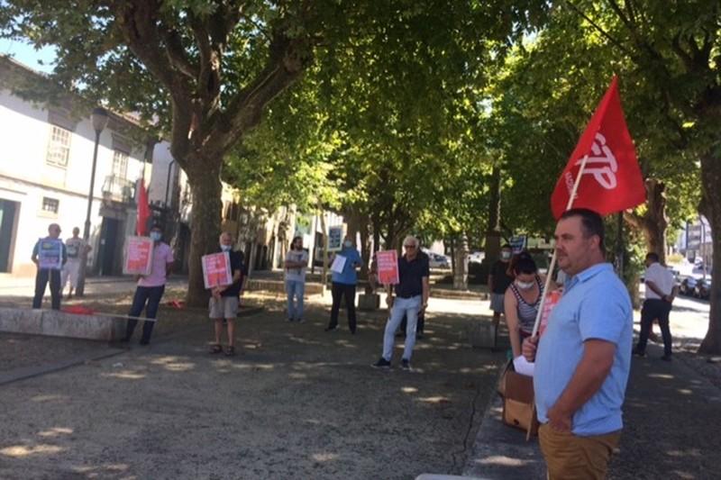 Manifestação-Sindicatos de Braga