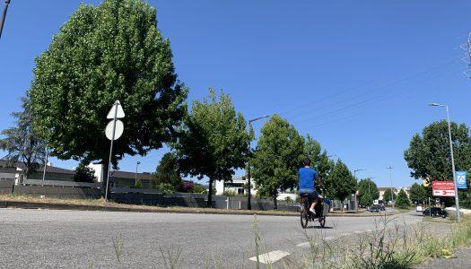 Braga Ciclável comenta manutenção na ciclovia de Lamaçães