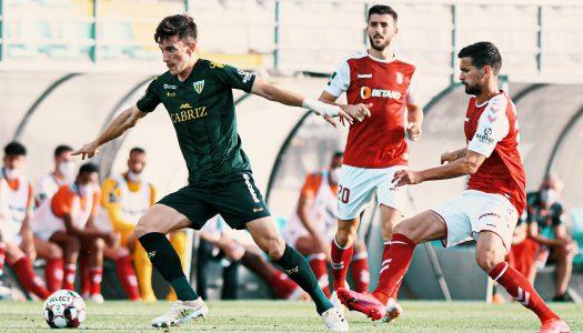 SC Braga escorrega no reduto do CD Tondela