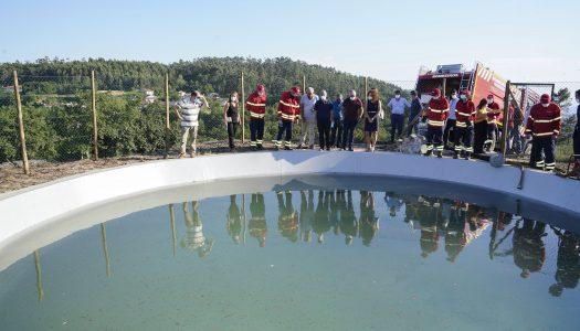 Guimarães tem novo ponto de água com para combate a incêndios