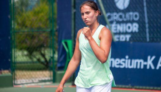 Francisca Jorge sagra-se tetracampeã nacional de ténis