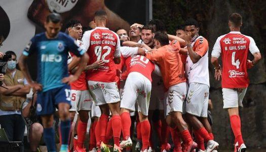 SC Braga vence e termina Liga NOS na terceira posição