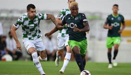 Moreirense empata frente ao Sporting CP