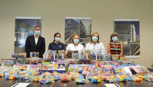 Hospital de Braga recebe doação de 6 mil euros em LEGO
