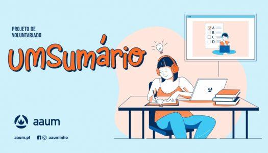 """""""UMSumário"""" regressa para apoiar alunos do Ensino Básico"""