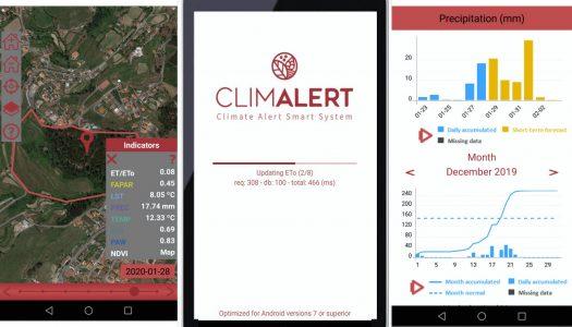 UMinho cria aplicação para alertar agricultores sobre mudanças climáticas