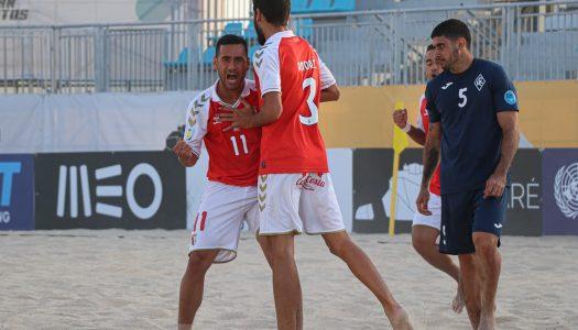 Futebol de praia. SC Braga carimba passaporte para as meias finais da Euro Winners Cup