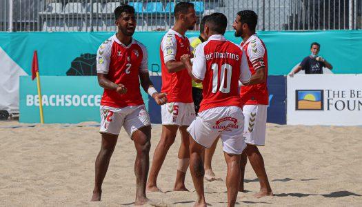 Futebol de praia. SC Braga está na final da Euro Winners Cup