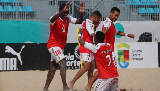 SC Braga vence na última partida da 1ª fase do Campeonato de Elite