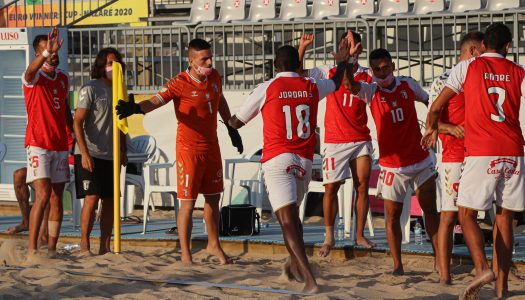SC Braga entra a vencer no Campeonato de Elite