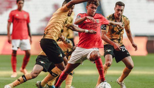 Moreirense derrotado no Estádio da Luz