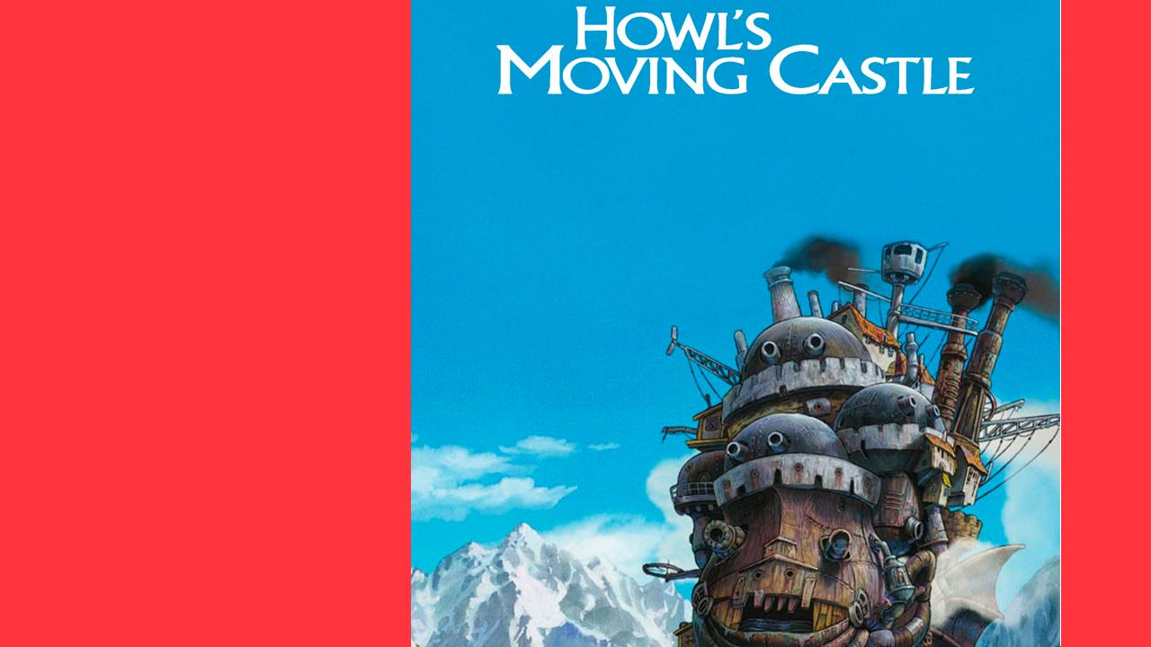 O Castelo Andante: divertido para as crianças, genial para os adultos