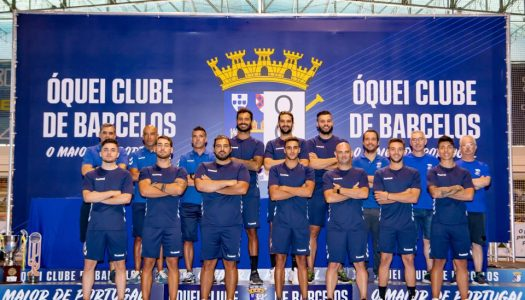 OC Barcelos. Intrometer-se na luta pelo título é o objetivo para 2020/2021