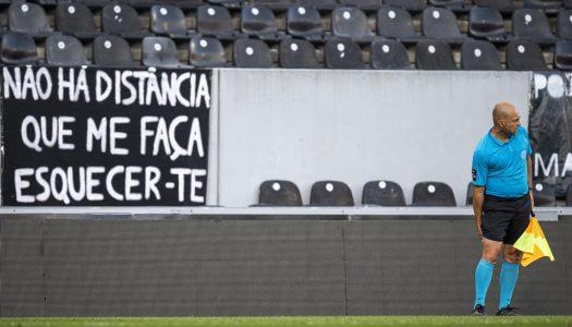 FPF planeia regresso gradual do público aos estádios