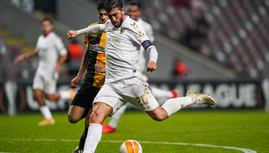 SC Braga entra com o pé direito na Liga Europa