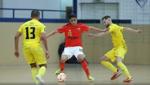 CR Candoso sofre larga derrota frente ao SL Benfica