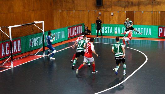 SC Braga/AAUM perde jogo equilibrado na receção ao Sporting CP