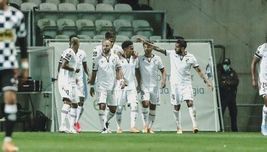 Vitória SC vence na estreia de João Henriques