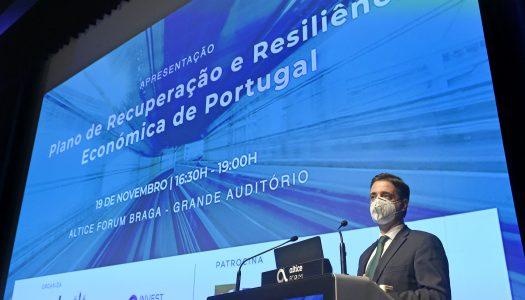 Plano de Recuperação de Resiliência é apresentado no Altice Forum Braga