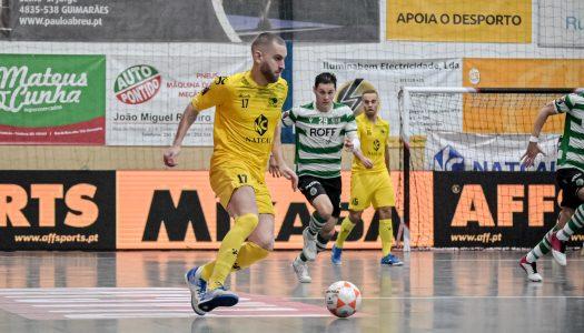 CR Candoso perde na receção ao Sporting CP