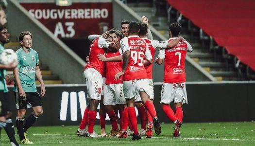 SC Braga vence SC Farense com golo nos minutos finais